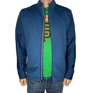 Adidas Climawarm Golf Blue Zipper Men's Jacket